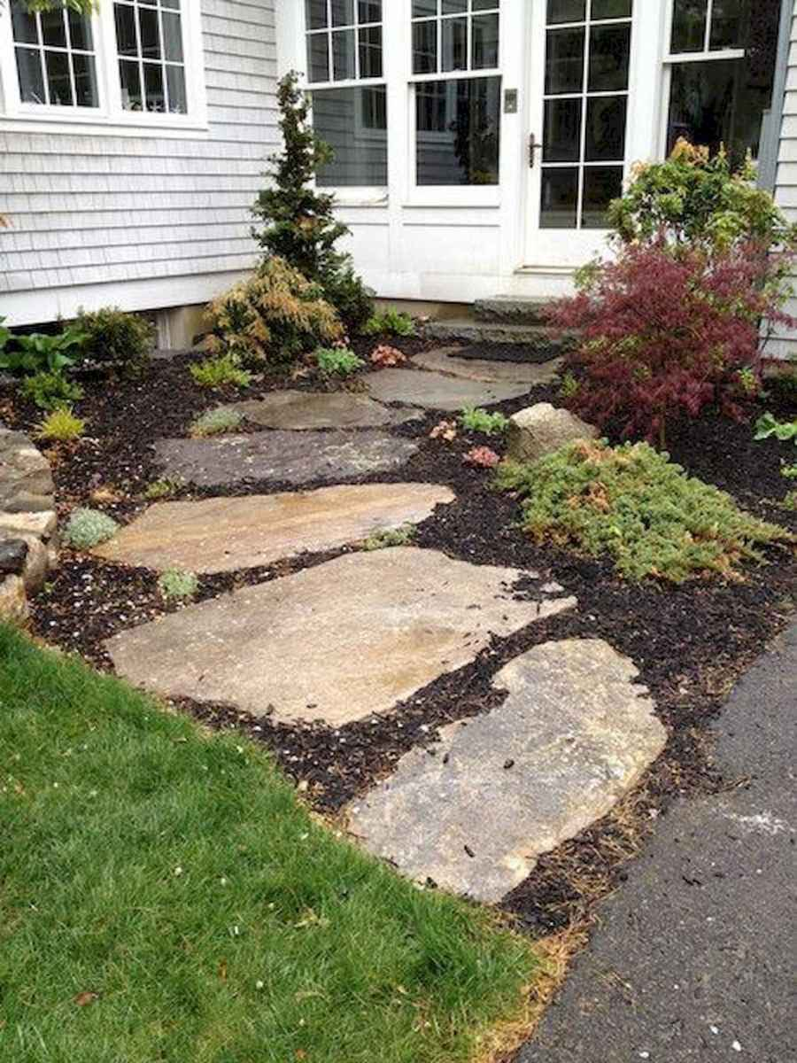 51 simple and beautiful front yard pathways landscaping ideas