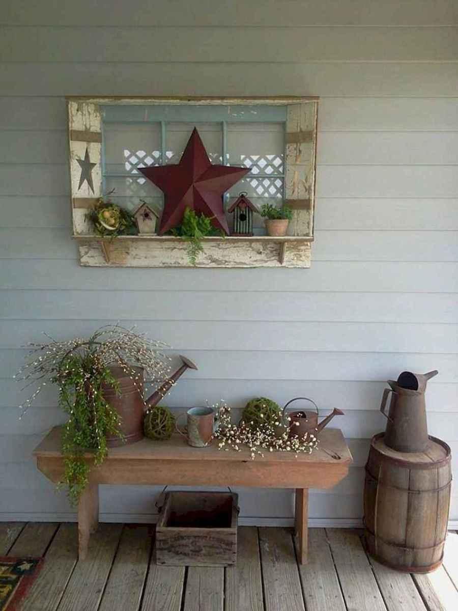 55 modern farmhouse front porch decorating ideas