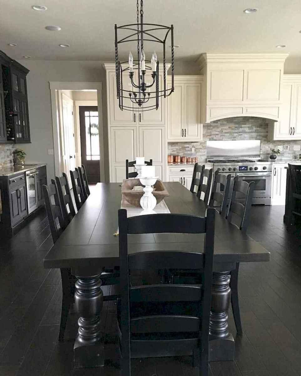 57 best farmhouse dining room makeover decor ideas