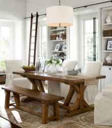 59 best farmhouse dining room makeover decor ideas