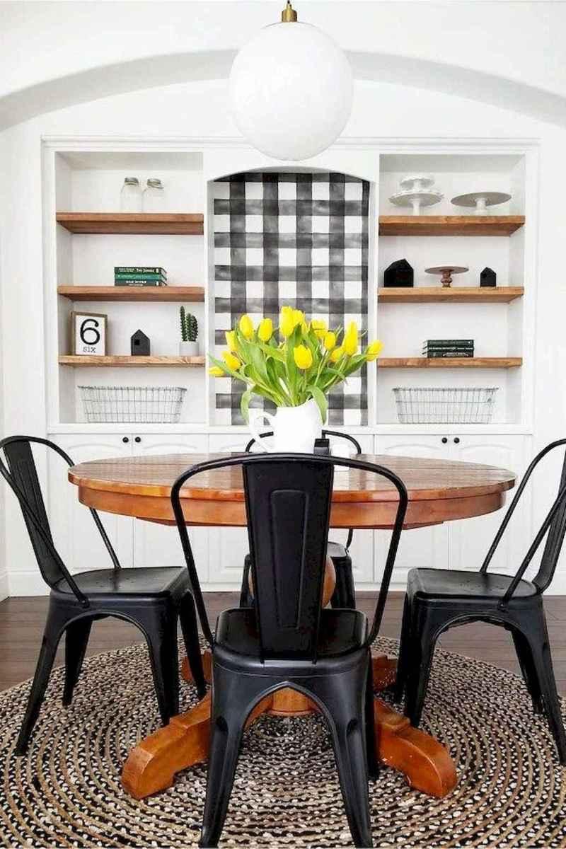 60 best farmhouse dining room makeover decor ideas