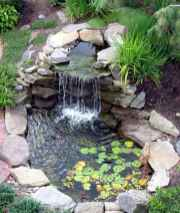 63 awesome backyard ponds and water garden landscaping ideas