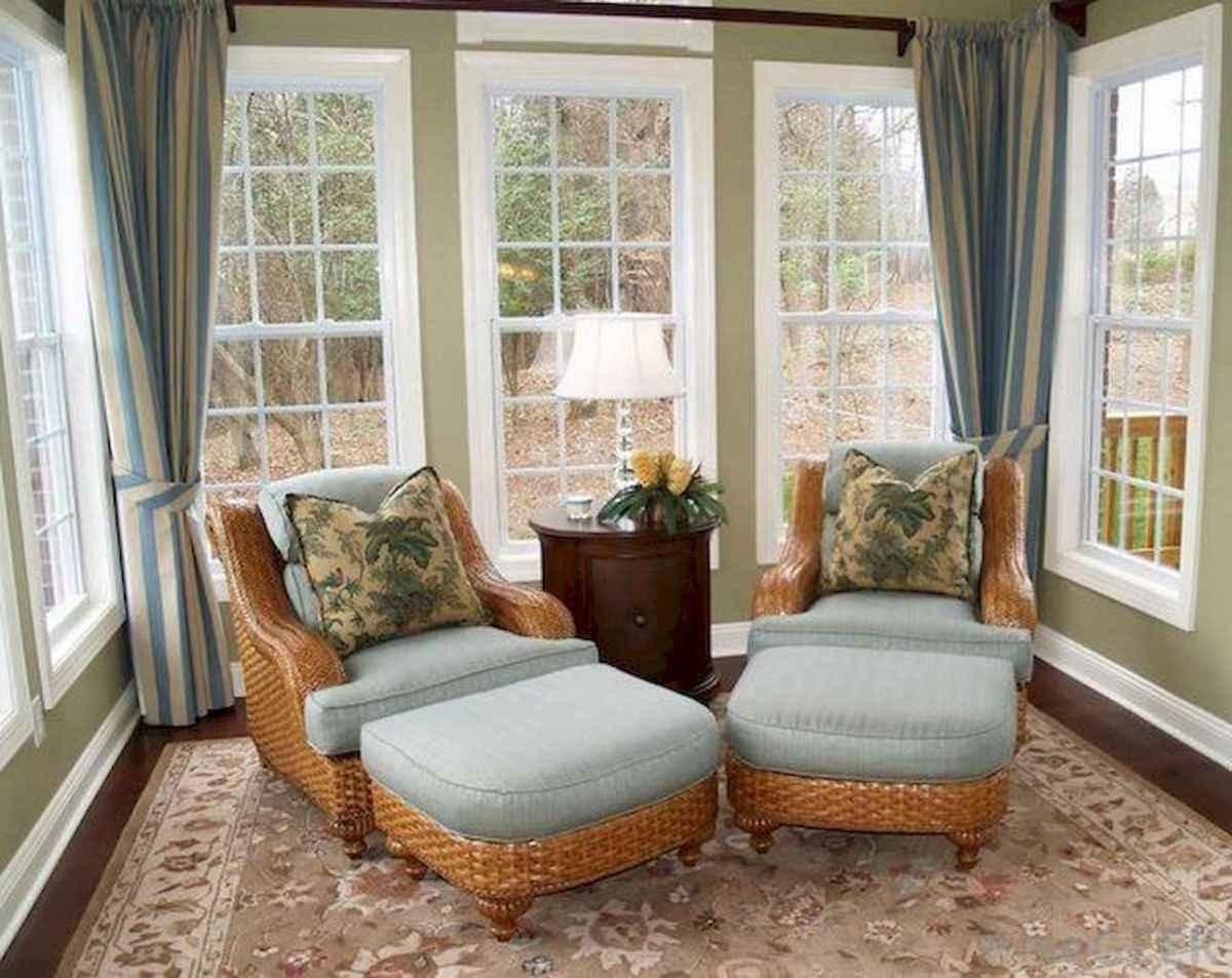 63 cozy farmhouse sunroom decor ideas