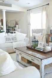 64 cozy modern farmhouse living room decor ideas