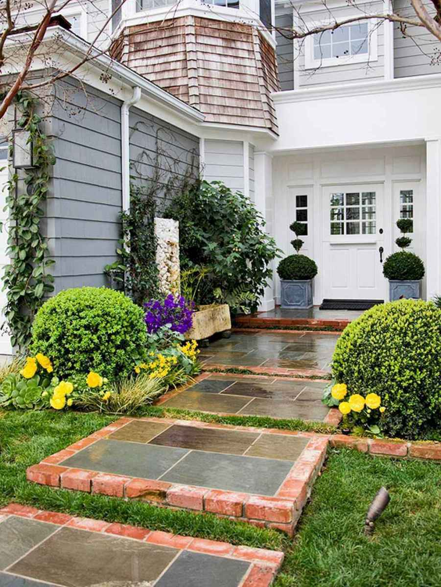 64 simple and beautiful front yard pathways landscaping ideas