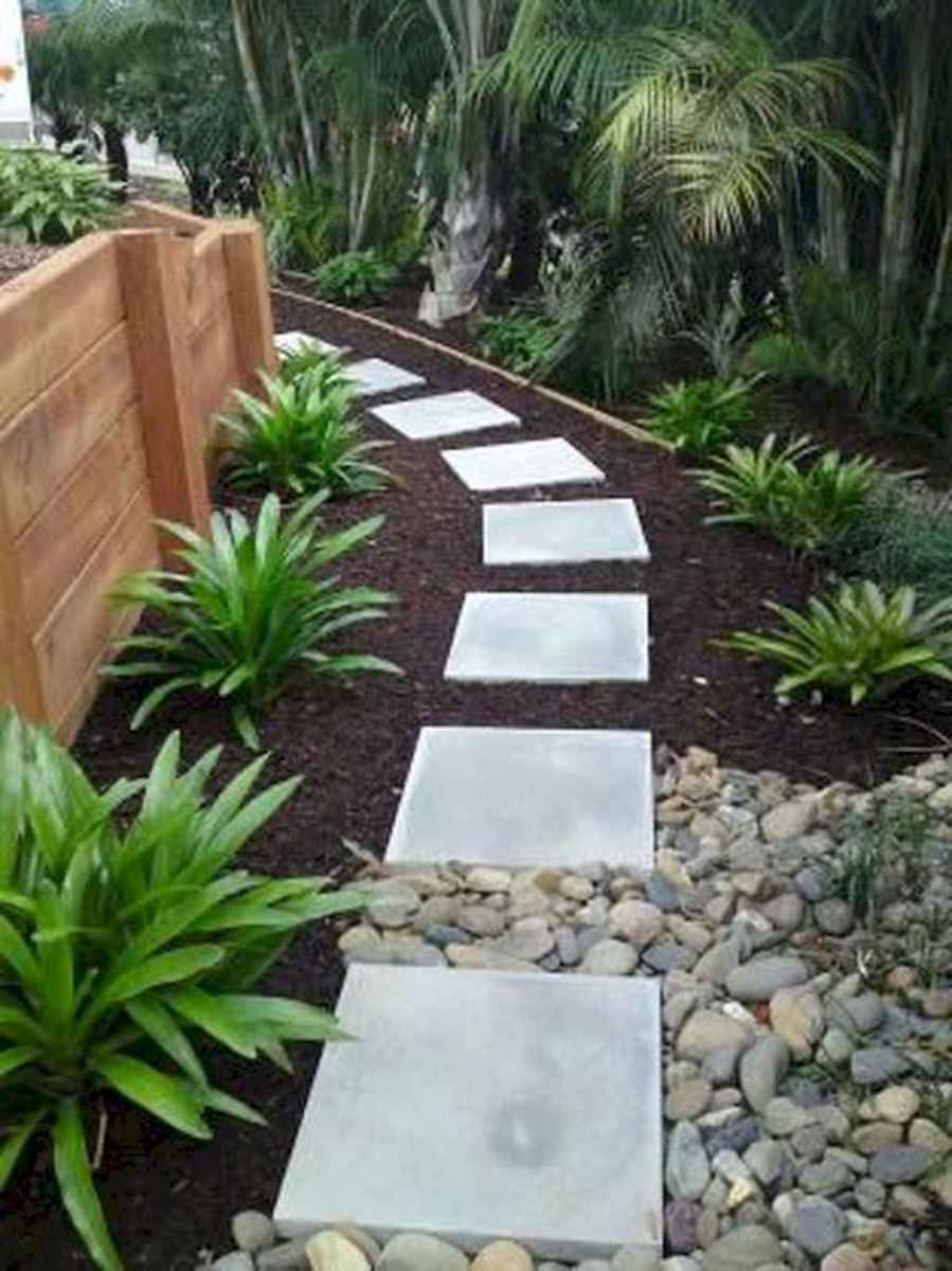 65 simple and beautiful front yard pathways landscaping ideas