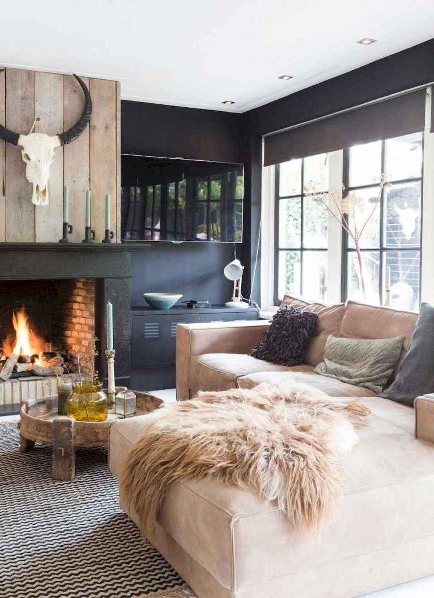 66 cozy modern farmhouse living room decor ideas