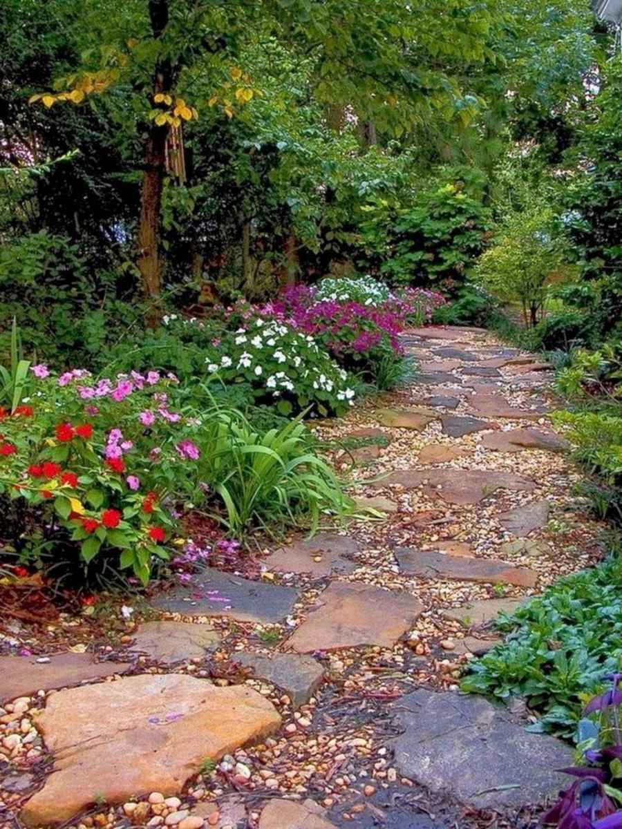 66 simple and beautiful front yard pathways landscaping ideas
