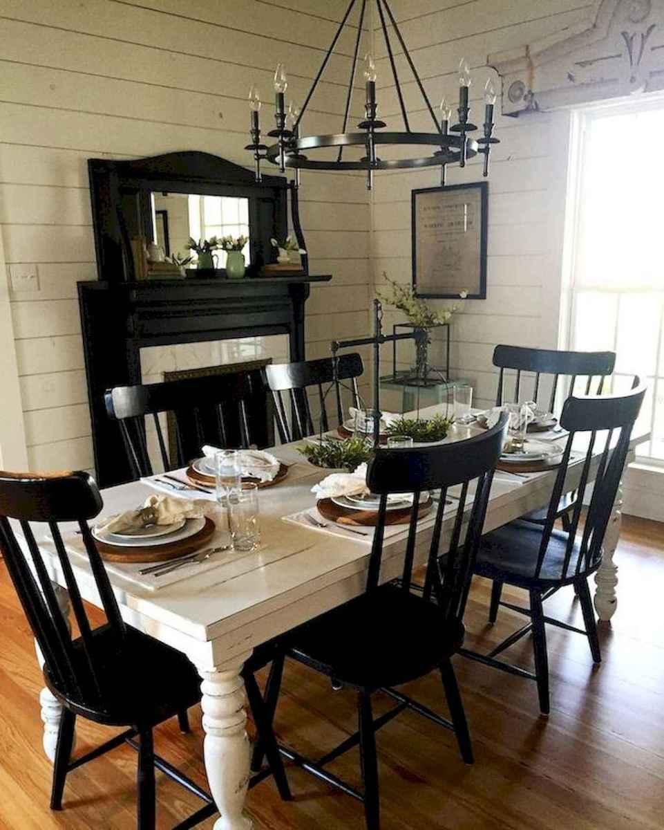 68 best farmhouse dining room makeover decor ideas