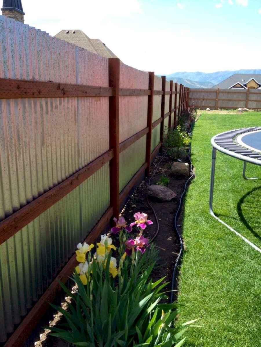 68 easy cheap backyard privacy fence design ideas