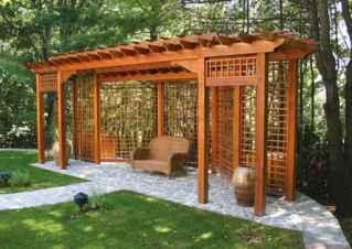 70 easy cheap backyard privacy fence design ideas