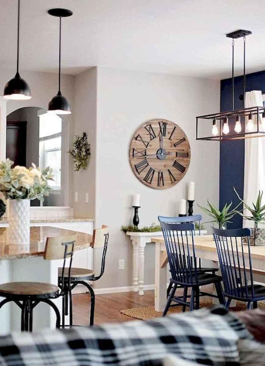 73 best farmhouse dining room makeover decor ideas