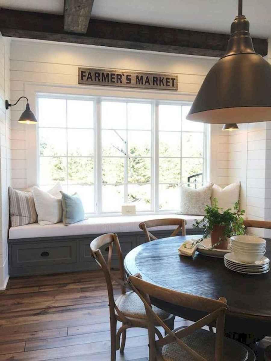 74 best farmhouse dining room makeover decor ideas