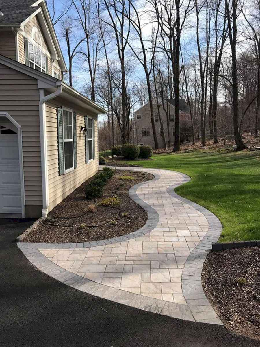 75 simple and beautiful front yard pathways landscaping ideas