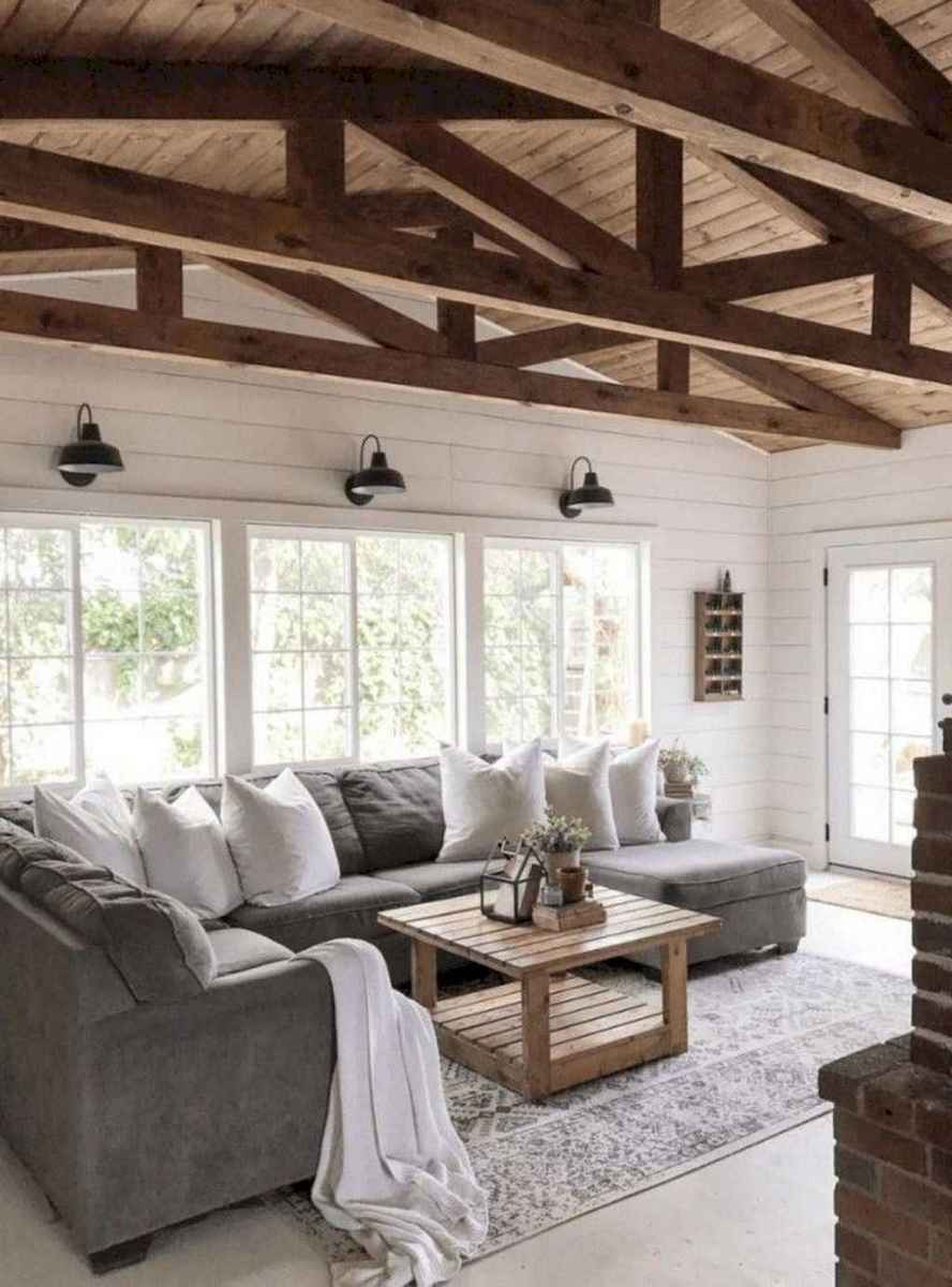 03 best modern farmhouse living room decor ideas