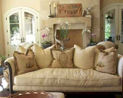 24 fancy french country living room decor ideas