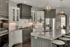 28 awesome gray kitchen cabinet design ideas