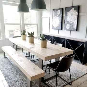 29 modern farmhouse dining room decor ideas