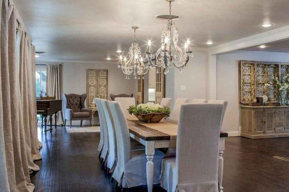 33 beautiful french country dining room decor ideas