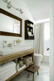 33 cool farmhouse bathroom remodel decor ideas