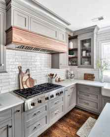 36 awesome gray kitchen cabinet design ideas
