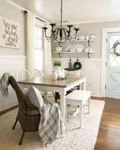 36 modern farmhouse dining room decor ideas