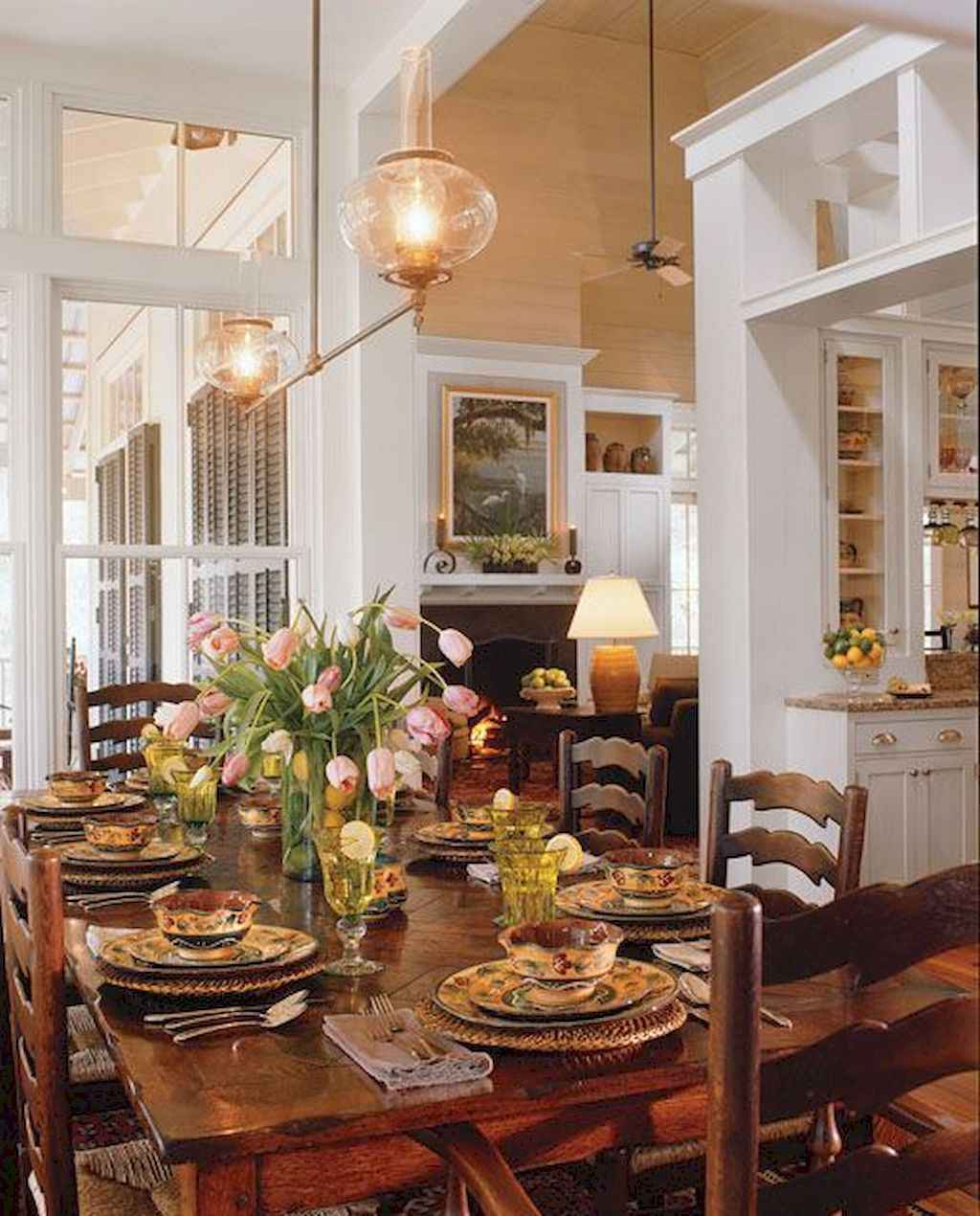 Country Dining Room Decorating Ideas: 42 Beautiful French Country Dining Room Decor Ideas