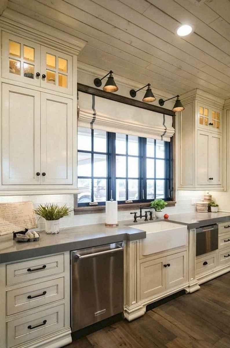 44 modern farmhouse kitchen cabinet makeover design ideas
