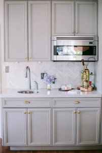 52 awesome gray kitchen cabinet design ideas
