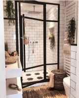 54 cool farmhouse bathroom remodel decor ideas