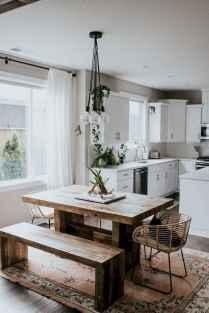 62 modern farmhouse dining room decor ideas