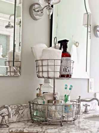 05 quick and easy bathroom storage organization ideas