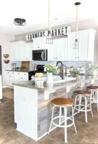 05 white kitchen cabinet decor for farmhouse style ideas