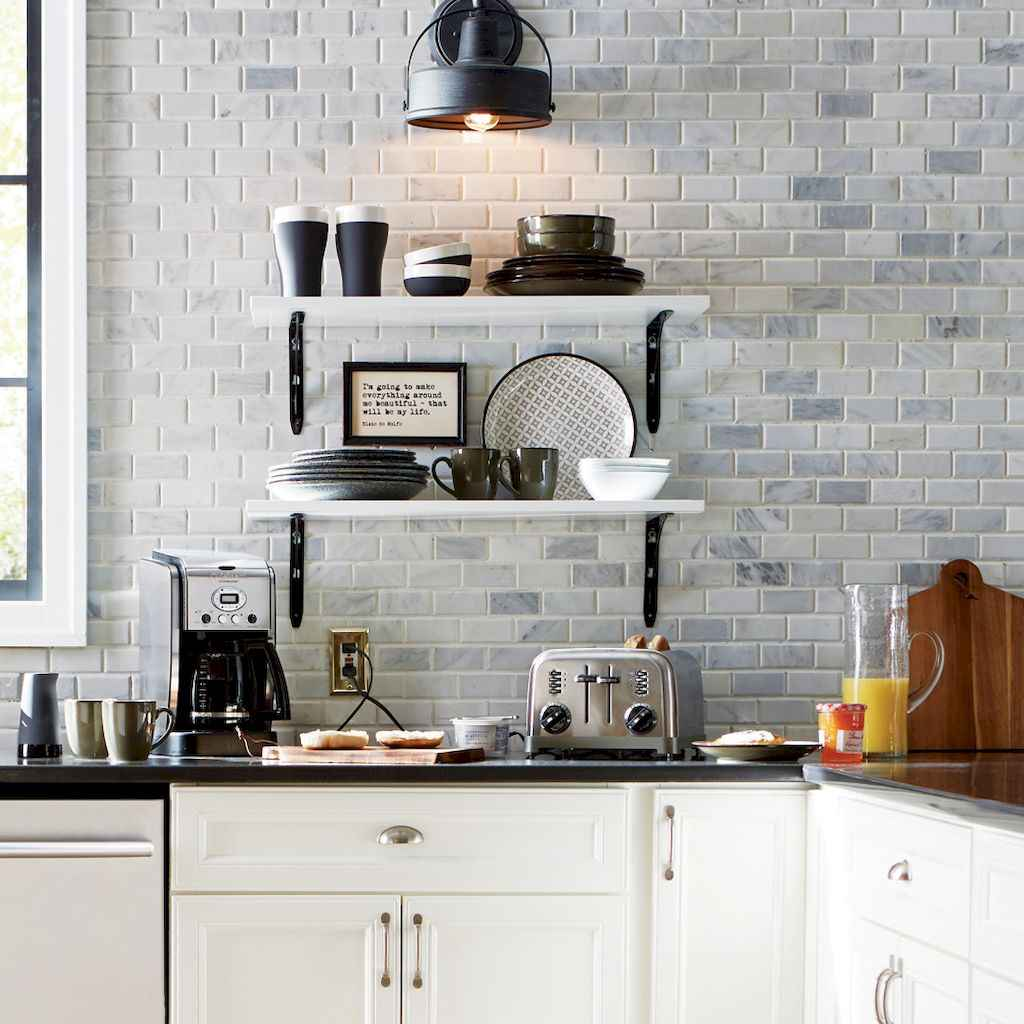 12 elegant gray kitchen cabinet makeover for farmhouse decor ideas