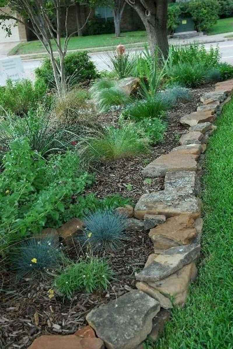 13 incredible side house garden landscaping ideas with rocks