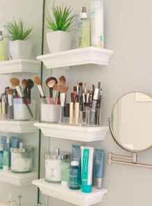 18 quick and easy bathroom storage organization ideas