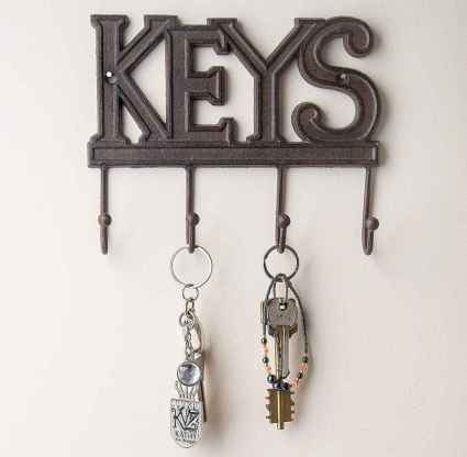 29 diy creative key holder for wall ideas