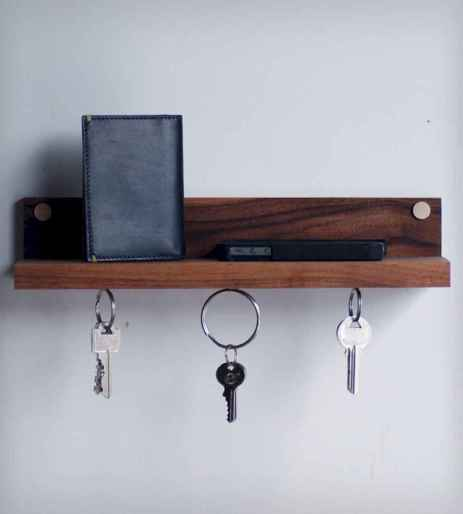35 diy creative key holder for wall ideas
