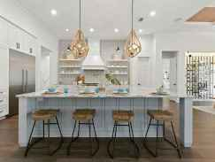 40 elegant gray kitchen cabinet makeover for farmhouse decor ideas
