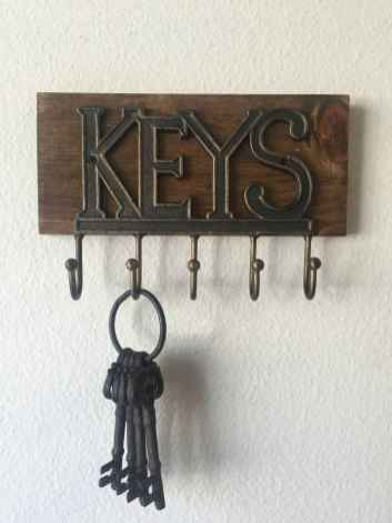 41 diy creative key holder for wall ideas