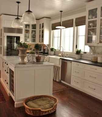 45 white kitchen cabinet decor for farmhouse style ideas