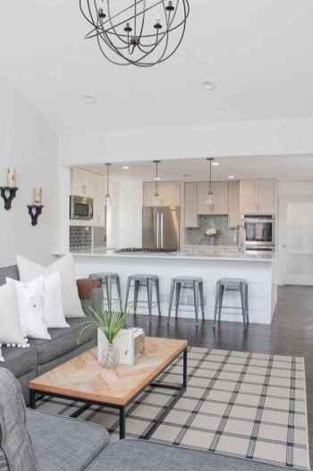 51 elegant gray kitchen cabinet makeover for farmhouse decor ideas