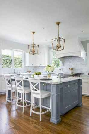 66 elegant gray kitchen cabinet makeover for farmhouse decor ideas