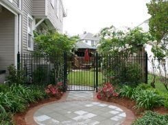 07 incredible side yard garden landscaping ideas with rocks