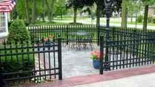 16 best front yard fence design ideas