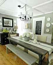 40 fantastic farmhouse dining room design ideas
