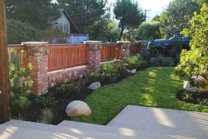 42 best front yard fence design ideas