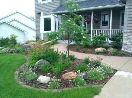 43 simple and beautiful front yard landscaping ideas on a budget