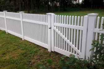 49 best front yard fence design ideas