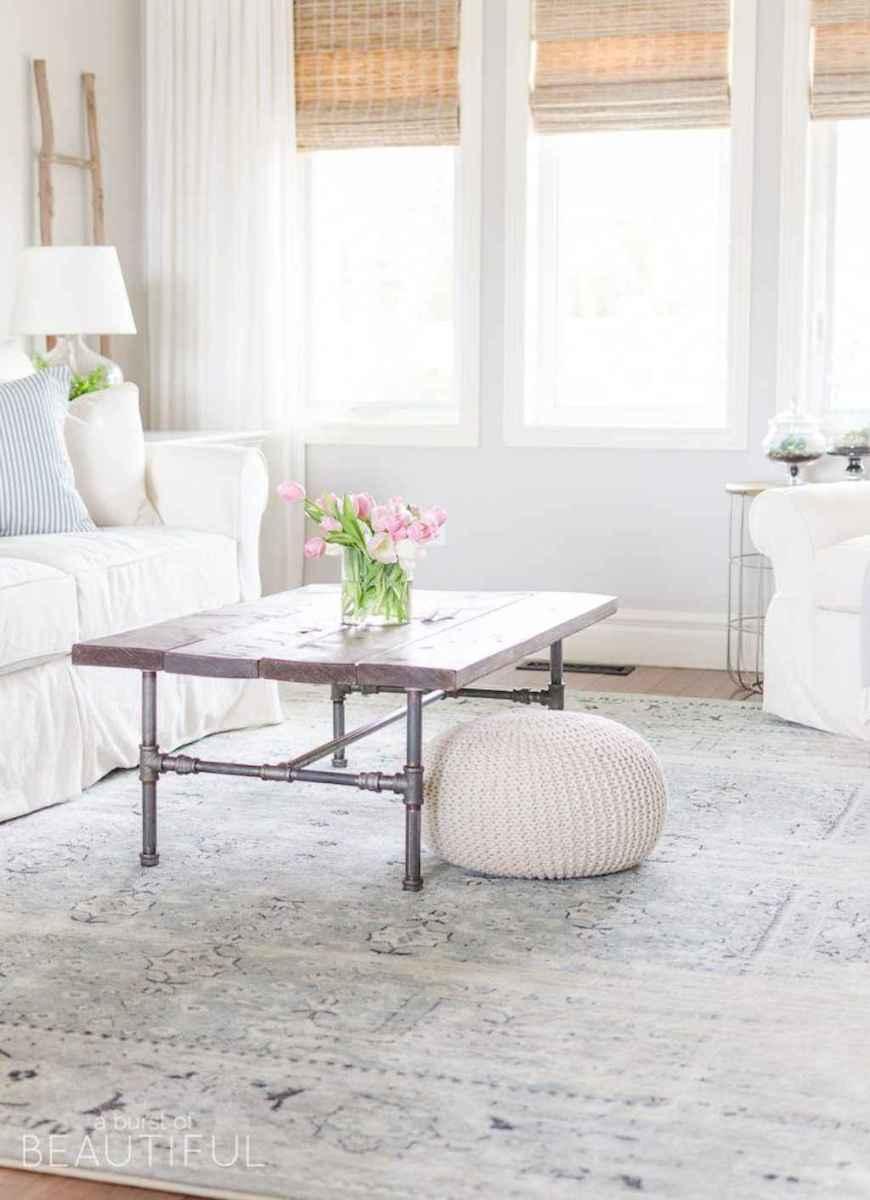 05 cozy farmhouse living room rug decor ideas